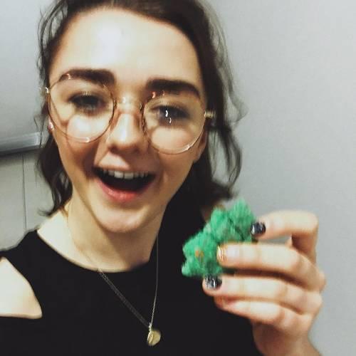 Maisie Williams è l'opposto di Arya Stark 7