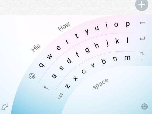 La app di Microsoft per iPhone per usare la tastiera con una sola mano