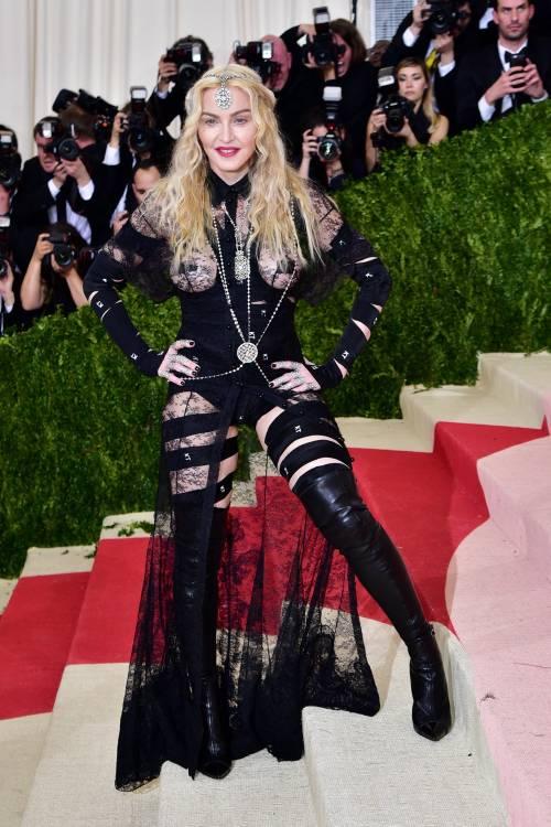 Madonna al Met Gala 2016 5