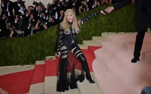 Madonna al Met Gala 2016 40