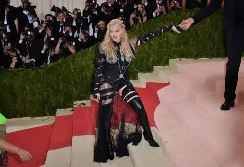Madonna al Met Gala 2016 39