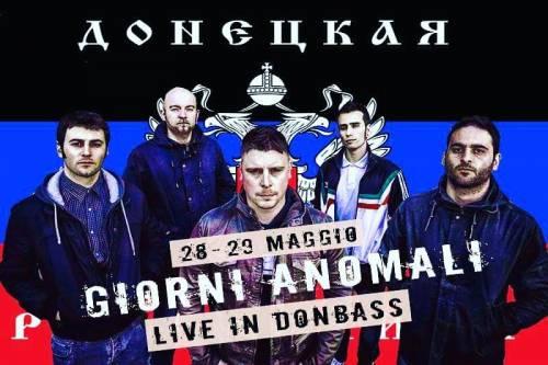 Quella band italiana che aiuta il Donbass
