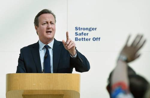 Se Cameron evoca la terza guerra mondiale in Europa