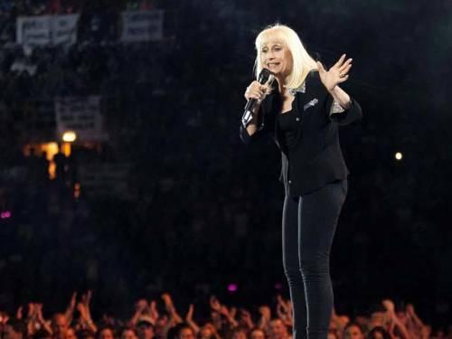 Raffaella Carrà gaffeuse di The Voice 5