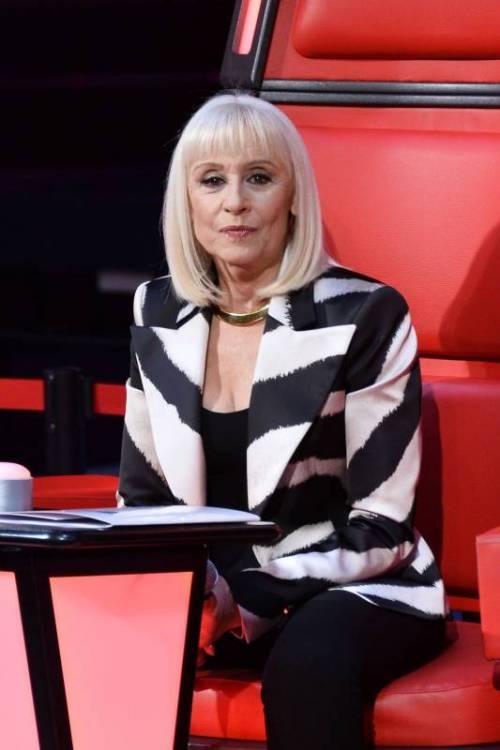 Raffaella Carrà gaffeuse di The Voice 9