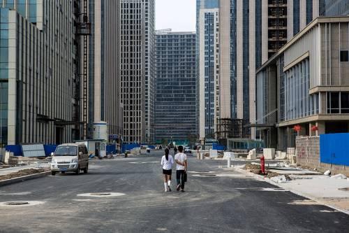Ecco le città fantasma firmate Made-in-China 13