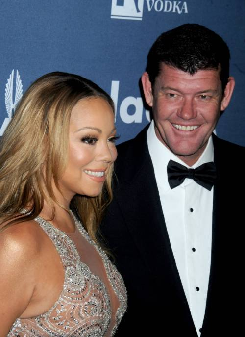 Mariah Carey bomba sexy ai Glaad Awards 5