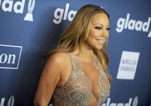 Mariah Carey bomba sexy ai Glaad Awards 4