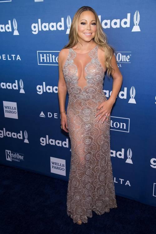 Mariah Carey bomba sexy ai Glaad Awards 6