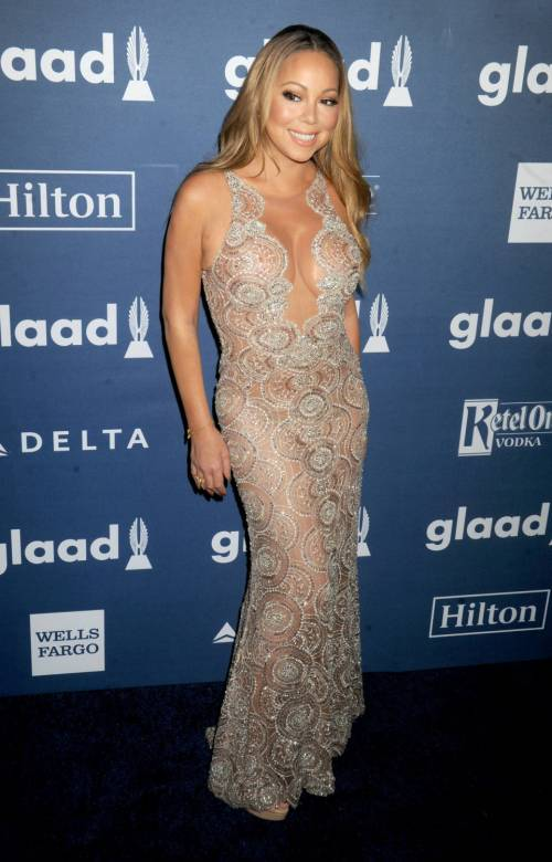 Mariah Carey bomba sexy ai Glaad Awards 7