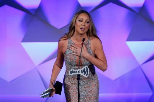 Mariah Carey bomba sexy ai Glaad Awards 9
