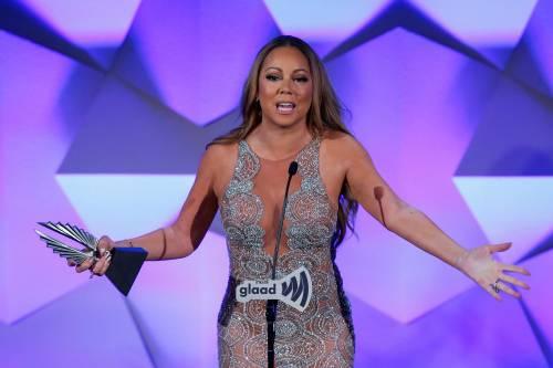 Mariah Carey bomba sexy ai Glaad Awards 10