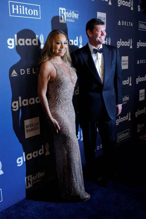 Mariah Carey bomba sexy ai Glaad Awards 13