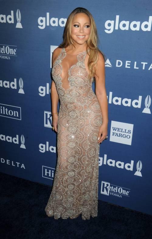 Mariah Carey bomba sexy ai Glaad Awards 12