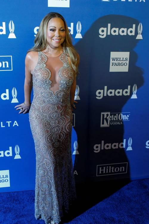 Mariah Carey bomba sexy ai Glaad Awards 15