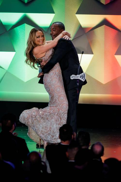 Mariah Carey bomba sexy ai Glaad Awards 14