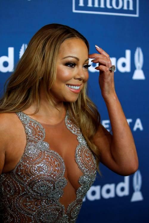 Mariah Carey bomba sexy ai Glaad Awards 3