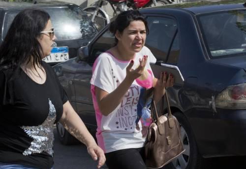 Egyptair, la disperazione dei parenti delle vittime 3