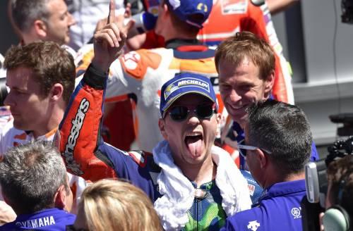 """""""Oggi sono stato molto fortunato, Rossi invece molto sfortunato"""""""