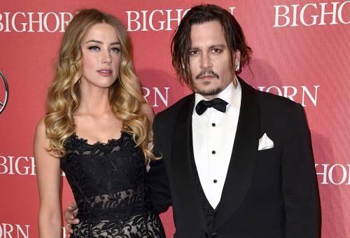 Johnny Depp e Amber Heard: foto 2