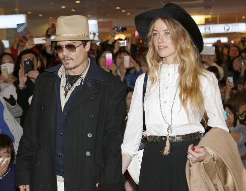 Johnny Depp e Amber Heard: foto 5