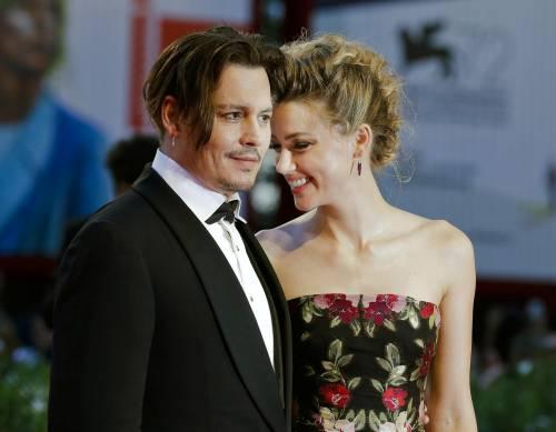 Johnny Depp e Amber Heard: foto 3
