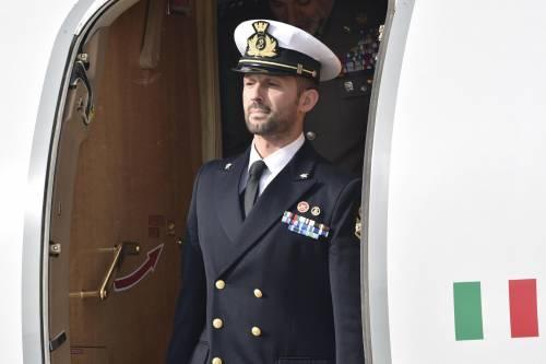 Marò, Salvatore Girone è tornato in Italia