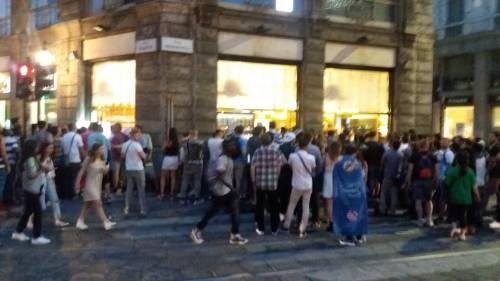 La strana notte dei tifosi a Milano 3