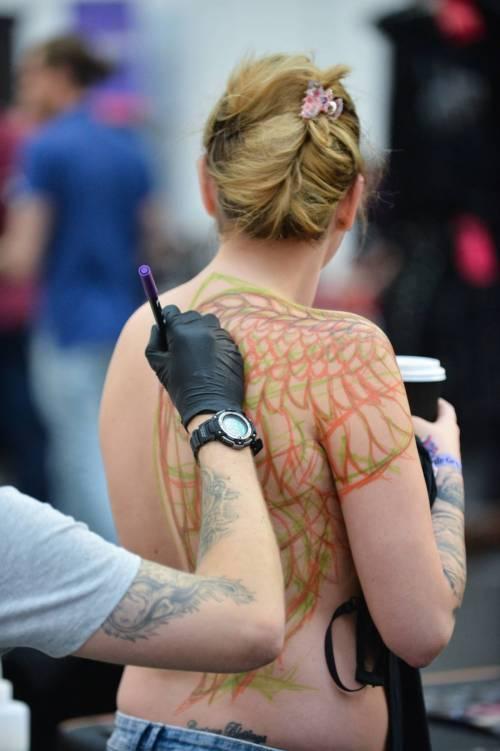 Lo show dei tatuaggi fa impazzire Londra