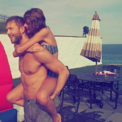 Taylor Swift e Calvin Harris insieme, foto 10