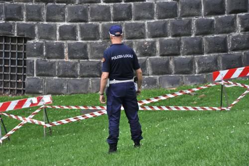 Crollano frammenti della torre: paura al Castello Sforzesco 19