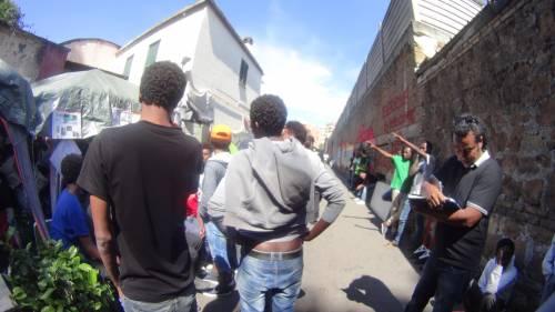 Emergenza profughi a Roma: in centinaia accampati in via Tiburtina  8