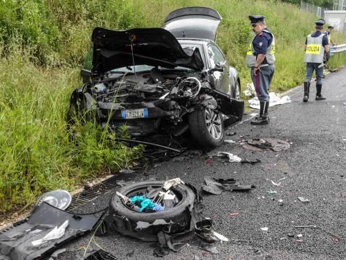 Buonanno, le foto dell'incidente mortale 3