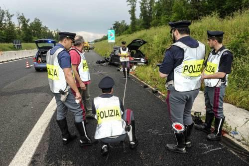 Buonanno, le foto dell'incidente mortale 4