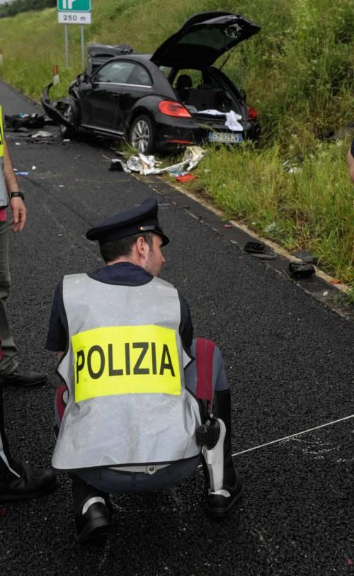 Buonanno, le foto dell'incidente mortale 5