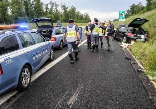 Buonanno, le foto dell'incidente mortale 7