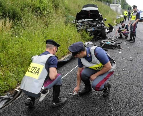 Buonanno, le foto dell'incidente mortale 10