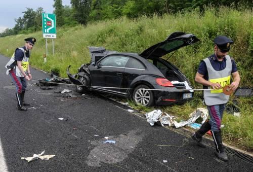 Buonanno, le foto dell'incidente mortale 9
