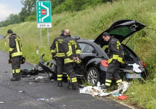 Buonanno, le foto dell'incidente mortale 8