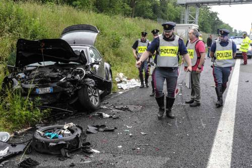 Buonanno, le foto dell'incidente mortale 11