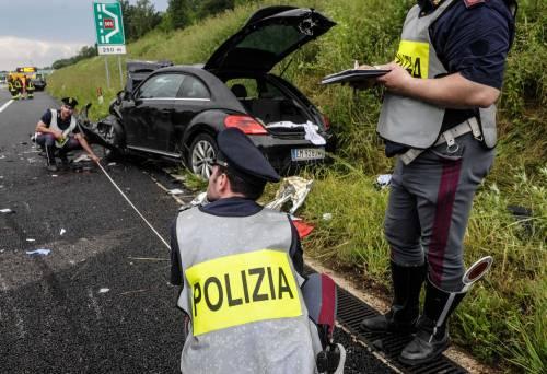 Buonanno, le foto dell'incidente mortale 2