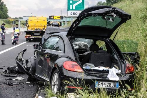 Buonanno, le foto dell'incidente mortale 12