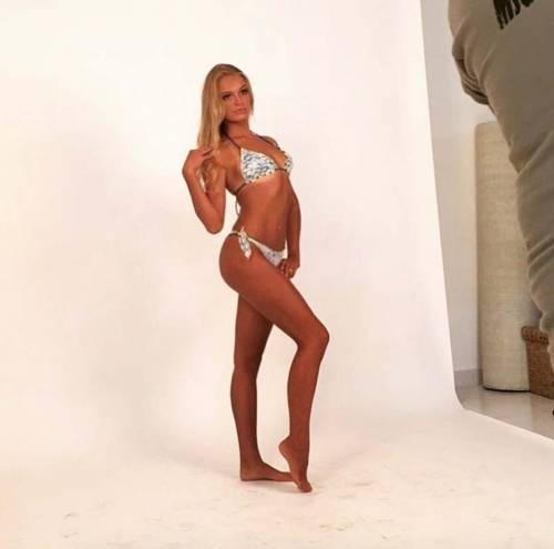 Mercedes Henger vista da mamma Eva su Instagram 12