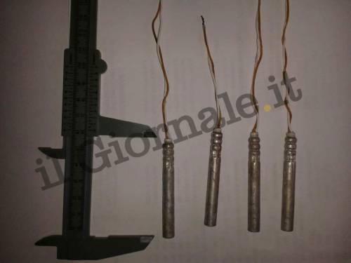 Ecco le bombe artigianali trovate dagli artificieri in Italia 17