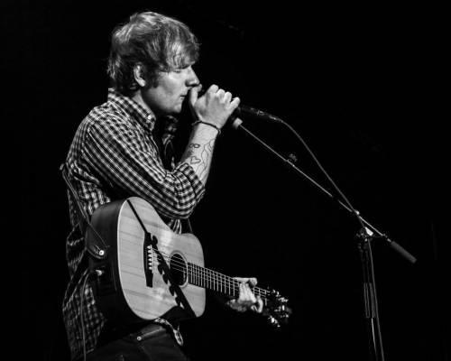 Ed Sheeran, le foto dell'artista in concerto 3