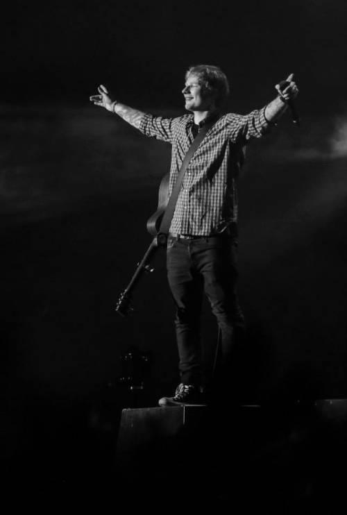 Ed Sheeran, le foto dell'artista in concerto 5