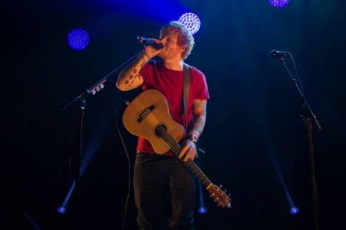 Ed Sheeran, le foto dell'artista in concerto 7