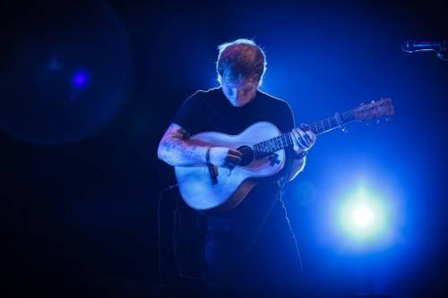 Ed Sheeran, le foto dell'artista in concerto 10