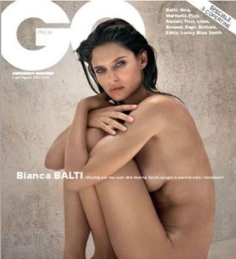 Calendario Gq.Bianca Balti E Super Hot Per Gq Ilgiornale It