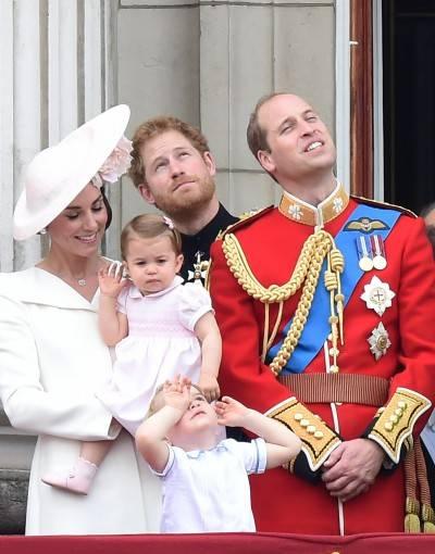 I 90 anni della regina Elisabetta: la Royal Family al balcone di Buckingham Palace 9